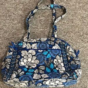 Vera Bradley Retired Blue Bayou Baby Bag